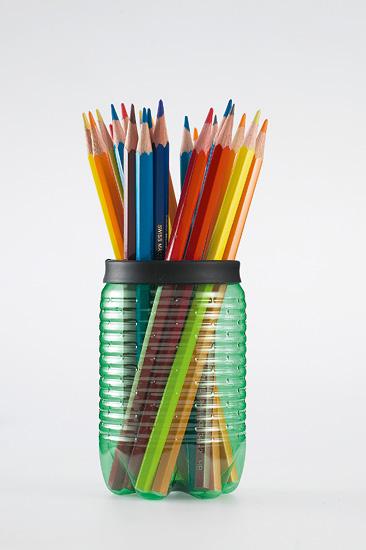 Reciclaje haciendo arte [botellas plasticas]